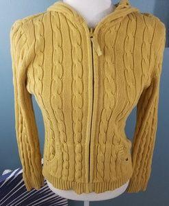 St. John Bay Knit Yellow Sweater hoodie